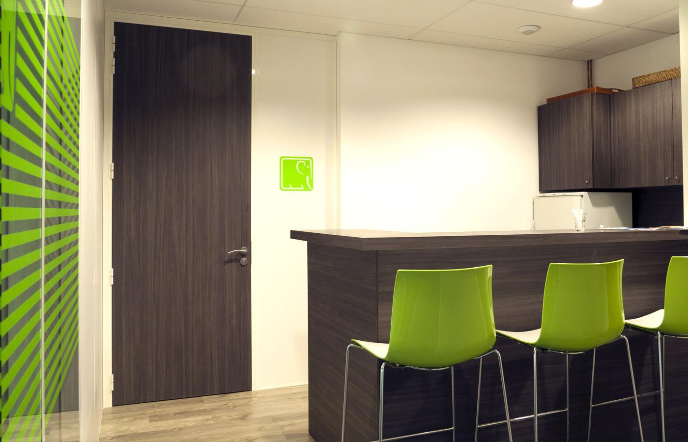 Aménagement intérieur des espaces pour la ste Quadix (69) | Partition