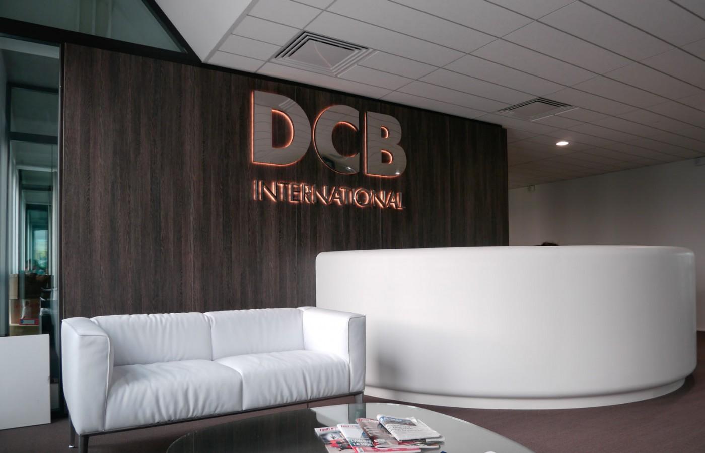 Accueil des bureaux de DCB International